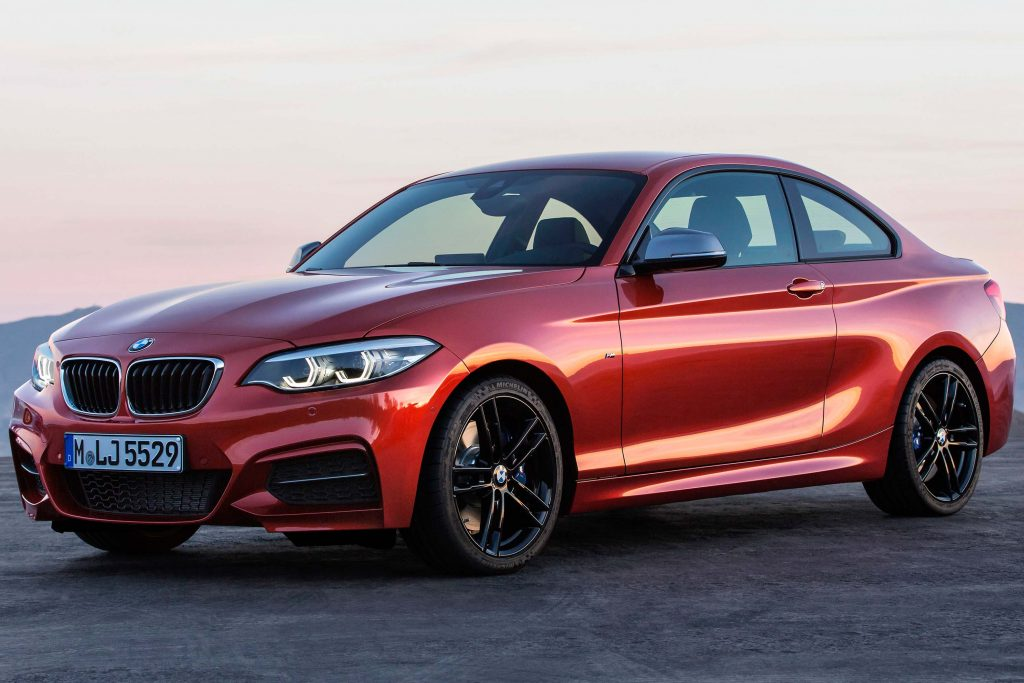 Bmw 2 Series Coupe 2017 Facelift F22 First Generation