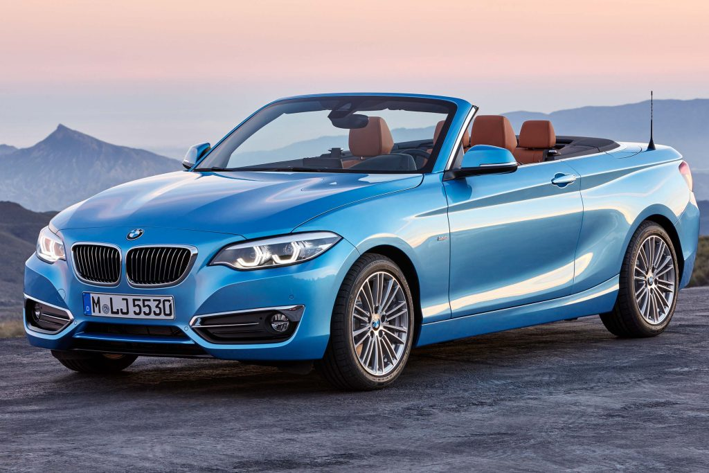 2018 Bmw 2 Series Facelift Small Changes For Smallest Bmws Between The Axles