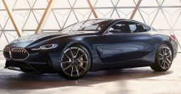 2019 BMW 8-Series coupe previewed by beautiful concept in Italy
