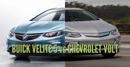 2018 Buick Velite 5 vs Chevrolet Volt: Differences in photo comparison