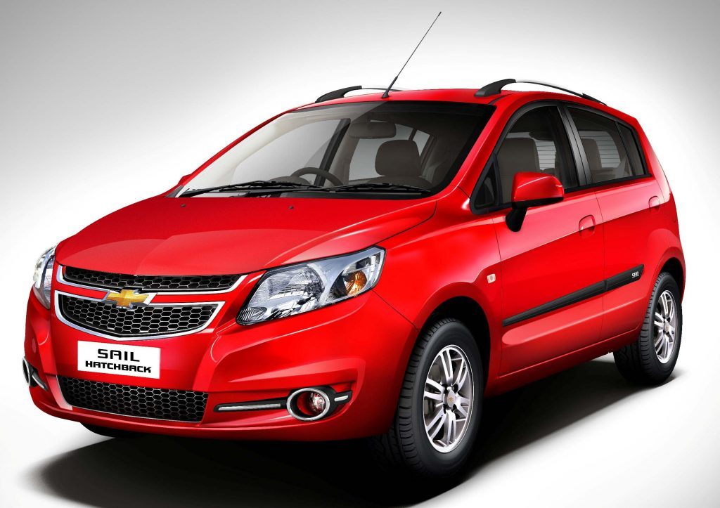 Chevrolet Sail hatch (2017, second generation, India) photos