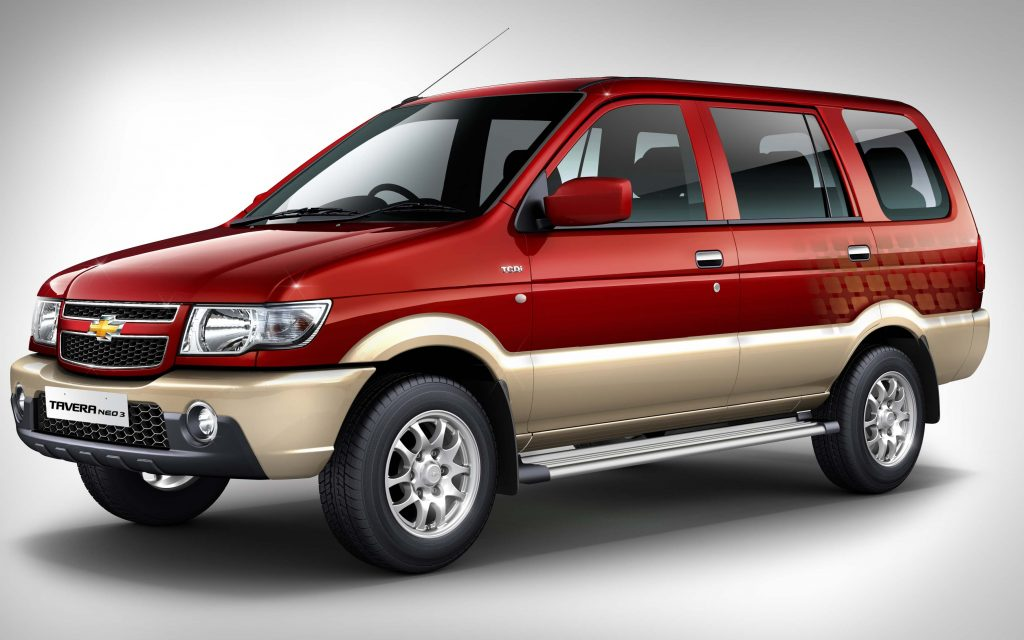 Chevrolet Tavera Neo 3 2016 First Generation India