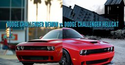 2018 Dodge Challenger Demon vs Hellcat: Differences side-by-side