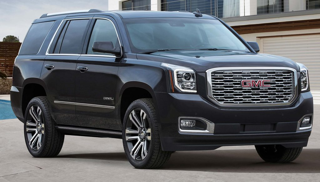 GMC Yukon Denali (2018 update, K2UG, fourth generation ...