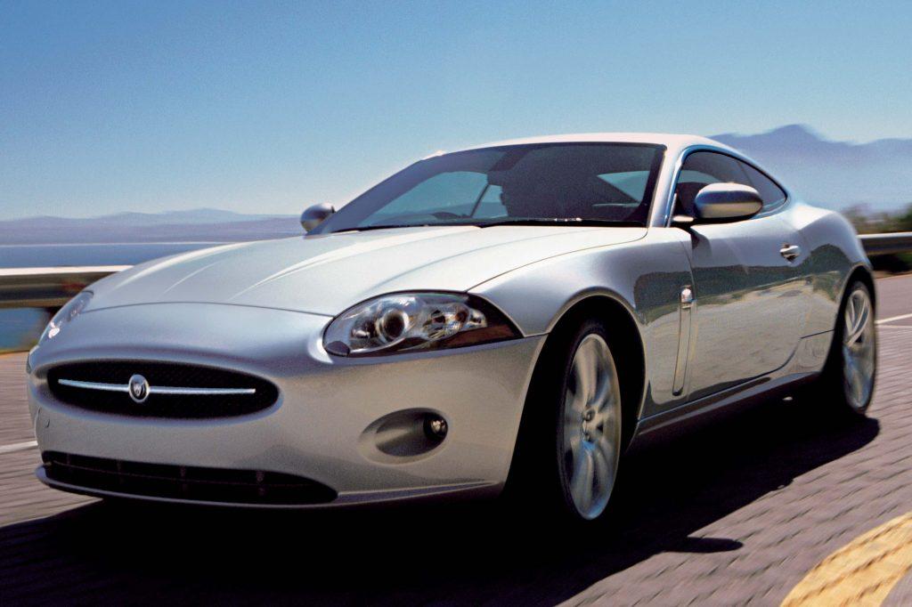 Jaguar XK coupe (2006-2011, X150, second generation ...