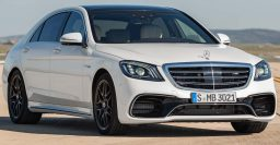 2018 Mercedes-AMG S63 4Matic+: New 4L twin turbo V8 for facelift