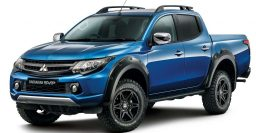 2017 Mitsubishi L200 Barbarian SVP: Desert Warrior goes into production