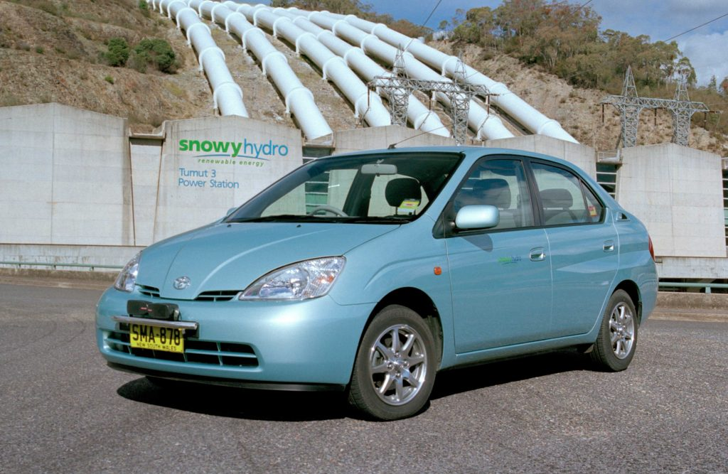 Toyota Prius history (2000-2012, 1st to 3rd generations ...