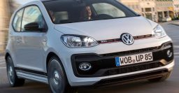 2018 Volkswagen Up GTI previewed by concept, honors Mk I Golf GTI