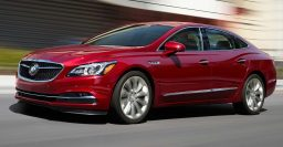 2018 Buick LaCrosse: New 2.5L mild hybrid, 9-speed auto for V6