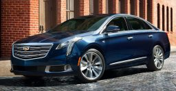 Cadillac XTS production ends with FWD red sedan