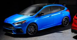 2018 Ford Focus RS Limited Edition: LSD for last 1500 hot hatches