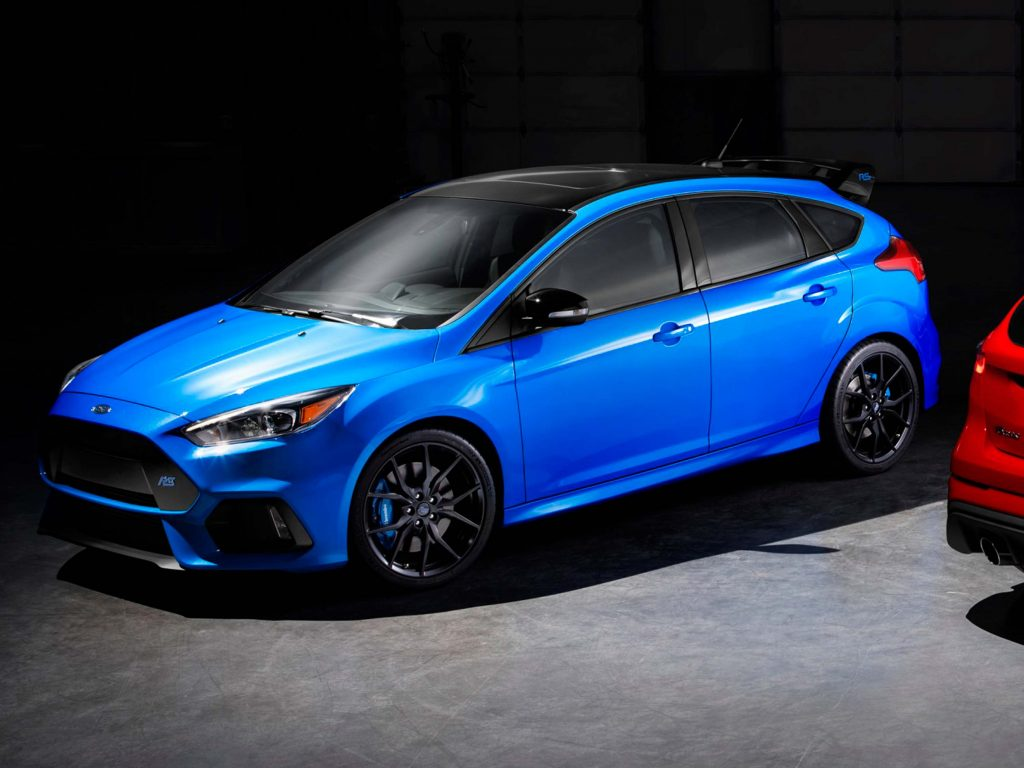 2018 Ford Focus RS Limited Edition: LSD for last 1500 hot ...