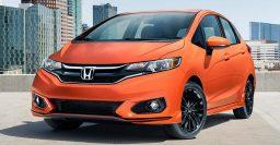 2018 Honda Fit facelift: New Sport trim, colors, Honda Sensing safety tech
