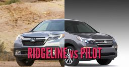 2017+ Honda Ridgeline vs 2016+ Pilot: Sibling differences