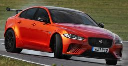 2017 Jaguar XE SV Project 8 is wide body, carbonfiber madness