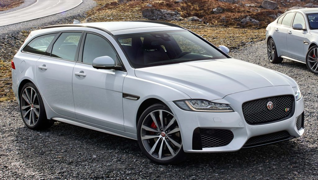 2018 jaguar xf sportbrake sexy wagon coming to the usa december 2017 between the axles. Black Bedroom Furniture Sets. Home Design Ideas