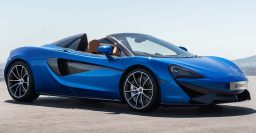 2017 McLaren 570S Spider: Retractable hardtop for open air fun