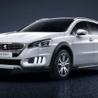 Peugeot 508 RXH (2015 facelift, first generation) photos
