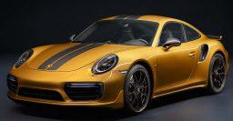 2017 Porsche 911 Turbo S Exclusive Series: More power, new yellow paint