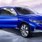 Roewe Vision-E concept (2017, Shanghai Auto Show) photos