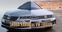 2017 Skoda Karoq vs Volkswagen Tiguan: Differences comparison