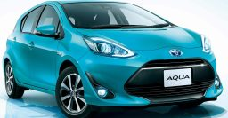 2017 Toyota Aqua: JDM facelift previews new look, crossover for Prius C