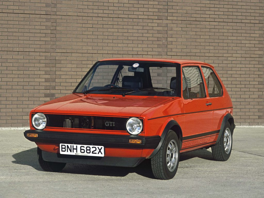 volkswagen golf gti 1975 1980 mark i first generation. Black Bedroom Furniture Sets. Home Design Ideas