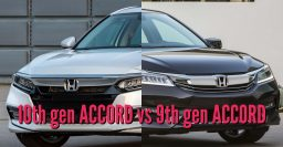 2018 Honda Accord vs 2016-2017 facelift: Differences side by side