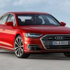 Audi A8 (2017, fourth generation, EU) photos