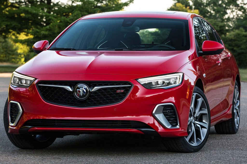 2018 buick regal gs v6 awd 9 speed auto sports model joins range between the axles. Black Bedroom Furniture Sets. Home Design Ideas