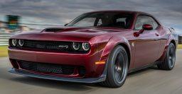 2018 Dodge Challenger SRT Hellcat Widebody has Demon arch flares
