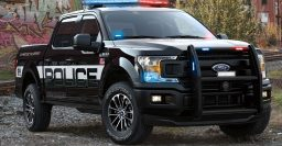 2018 Ford F-150 Police Responder: Pursuit rated pickup to chase baddies