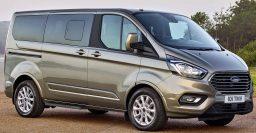 2018 Ford Transit Custom, Tourneo Custom facelift: Better dash, bigger grille