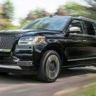 Lincoln Navigator Extended Length Black Label (2018, U554) photos