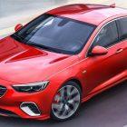 Vauxhall Insignia GSi liftback (2017, second generation) photos