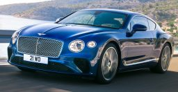 2018 Bentley Continental GT: RWD Porsche platform, genuine sex appeal