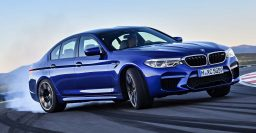 2018 BMW M5: AWD and automatic only; has RWD mode and can drift