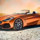 2019 BMW Z4 previewed by sexy concept at Pebble Beach
