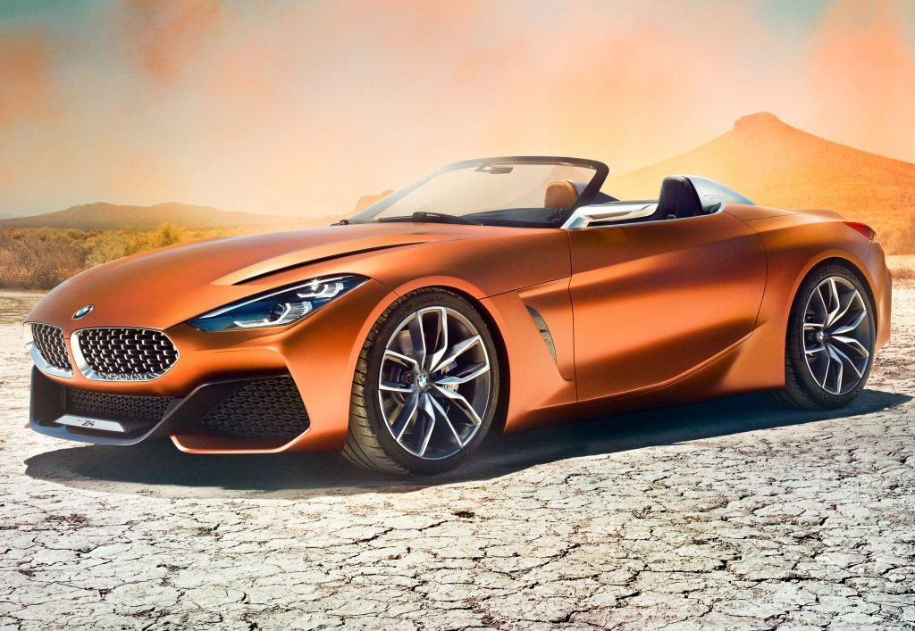 Bmw Z4 Concept 2017 Third Generation Photos Between