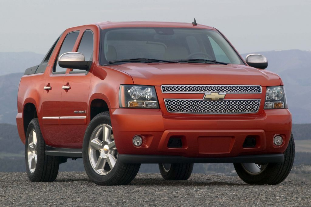 Chevrolet Avalanche (2009, GMT941, second generation, USA ...