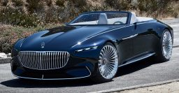 Mercedes-Maybach Vision 6 Cabriolet is a hyuuge electric land yacht
