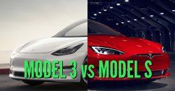 2017 Tesla Model 3 vs Model S differences: Side-by-side comparison