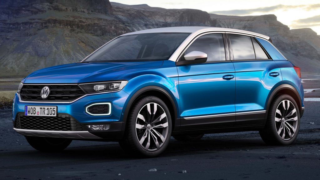 Rear View Camera System >> 2017 Volkswagen T-Roc: New small SUV has funky two tone body