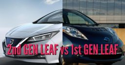 2018 Nissan Leaf vs 2010-2017: 1st vs 2nd gen differences compared