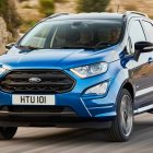 2017 Ford EcoSport facelift: Better interior, new diesel, ST-Line for EU