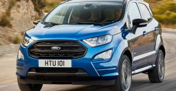 2017 Ford EcoSport facelift: Better interior, new diesel, ST-Line for EU