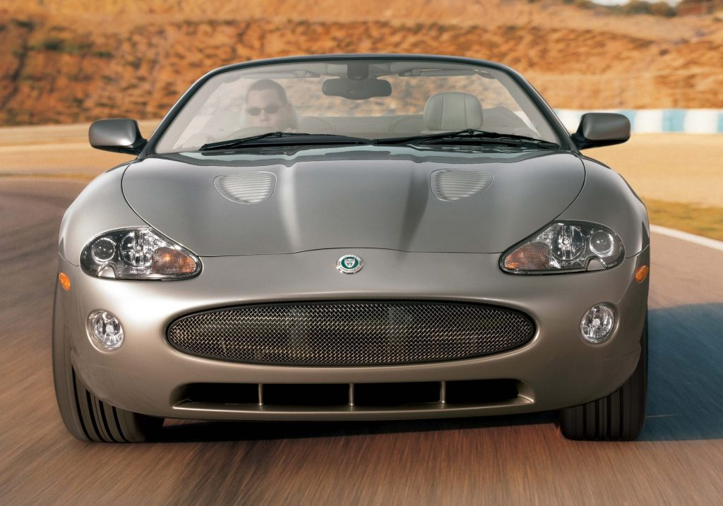Jaguar XKR convertible (2004-2006 facelift, X100, first ...