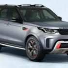 Land Rover Discovery SVX preview (2018, L463, third generation) photos