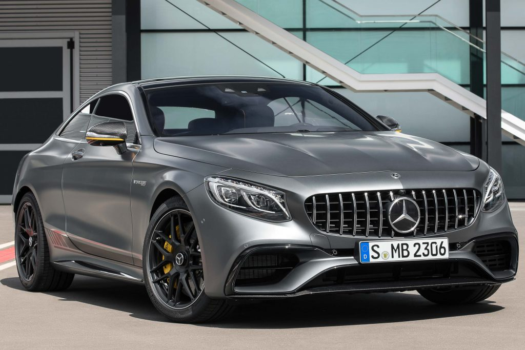 Mercedes Amg S63 Yellow Night Edition Coupe 2017 Facelift